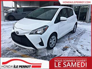 Used 2018 Toyota Yaris Hatchback LE JAMAIS ACCIDENTÉE for sale in Île-Perrot, QC