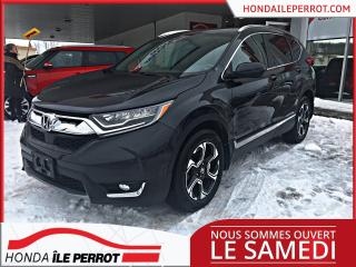 Used 2017 Honda CR-V Touring JAMAIS ACCIDENTÉE for sale in Île-Perrot, QC