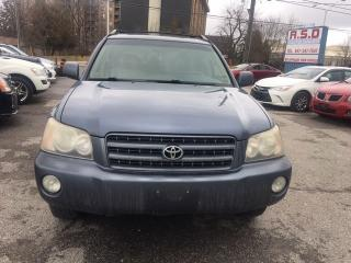 Used 2002 Toyota Highlander for sale in Scarborough, ON