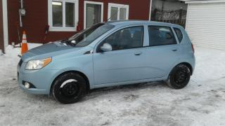 Used 2011 Chevrolet Aveo Lt*toit*bluetooth*mags for sale in Richelieu, QC