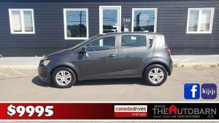 Used 2016 Chevrolet Sonic LT for sale in Saint John, NB