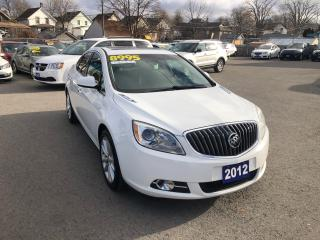 Used 2012 Buick Verano Loaded, Leather, Sunroof, Navi. for sale in St Catharines, ON