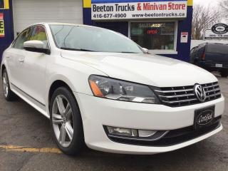 Used 2013 Volkswagen Passat HIGHLINE for sale in Beeton, ON