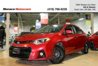 Used 2015 Toyota Corolla S - BACKUPCAMERA|HEATED SEATS|ALLOYS|BLUETOOTH for sale in North York, ON