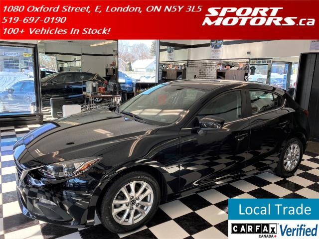 2015 Mazda MAZDA3 GS SPORT+Camera+Heated Seats+A/C+Cruise+New Tires