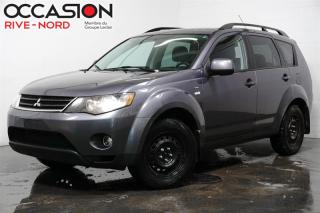 Used 2008 Mitsubishi Outlander 4x4 6 cylindres full equip for sale in Boisbriand, QC