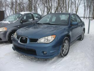 Used 2007 Subaru Impreza Berline 4 portes, boîte automatique 2.5i for sale in St-Sulpice, QC