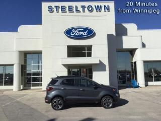 New 2020 Ford EcoSport SES 4WD  - Activex Seats -  Heated Seats for sale in Selkirk, MB