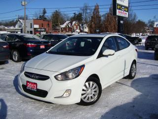 Used 2013 Hyundai Accent GLS,Bluetooth,Gas Saver,Sunroof,Key Less,Fog Light for sale in Kitchener, ON