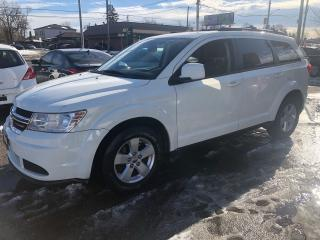 Used 2014 Dodge Journey SE certified ,no accident for sale in Scarborough, ON