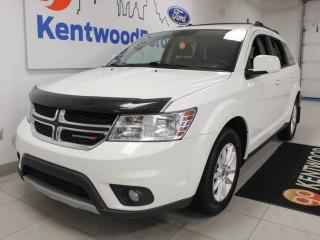 Used 2015 Dodge Journey SXT FWD with rear climate control and push start/stop for sale in Edmonton, AB