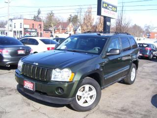 Used 2007 Jeep Grand Cherokee Laredo,AWD,AUTO,A/C,ALLOYS,CERTIFIED,NO ACCIDENT, for sale in Kitchener, ON