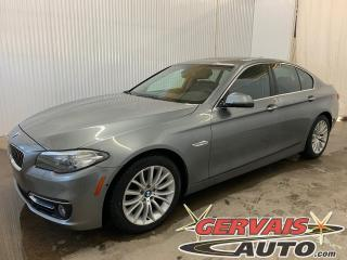 Used 2015 BMW 5 Series 528i xDrive Cuir Toit Panoramique Caméra MAGS for sale in Trois-Rivières, QC