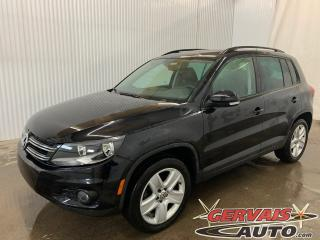 Used 2016 Volkswagen Tiguan Comfortline 4Motion AWD Cuir Toit Panoramique MAGS for sale in Trois-Rivières, QC