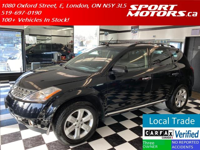 2006 Nissan Murano SL AWD+Heated Seats+Cruise+Fog Lights