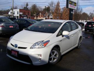 Used 2014 Toyota Prius HYBRID,AUTO,A/C,CERTIFIED,ONTARIO CAR for sale in Kitchener, ON