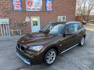 Used 2012 BMW X1 28i EXECUTIVE/4WD/NAVIGATION/ONE OWNER/CERTIFIED for sale in Cambridge, ON