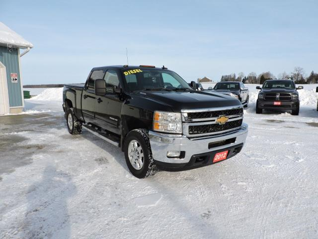2012 Chevrolet Silverado 2500 LTZ. Diesel. 4X4. Leather. 1 owner