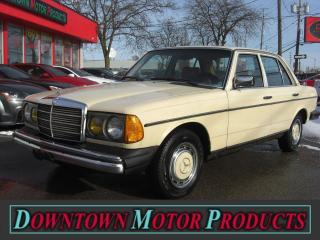 Used 1982 Mercedes-Benz 240D Diesel for sale in London, ON