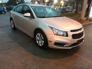 Used 2015 Chevrolet Cruze LIMITED,B/CAMERA,BLUETOOTH,SAFETY+3YERS  WARRANTY for sale in Toronto, ON