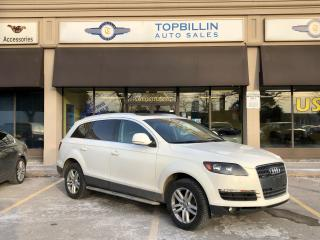Used 2008 Audi Q7 3.6L 7 pass, Pano Roof for sale in Vaughan, ON