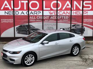 Used 2018 Chevrolet Malibu LT-ALL CREDIT ACCEPTED for sale in Scarborough, ON