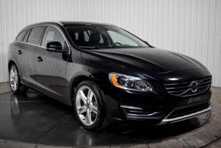 Used 2017 Volvo V60 SPECIAL EDITION AWD CUIR TOIT MAGS NAV X for sale in St-Hubert, QC