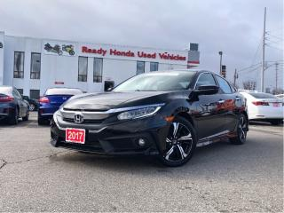 Used 2017 Honda Civic Sedan Touring - Navigation - Leather -  Sunroof for sale in Mississauga, ON