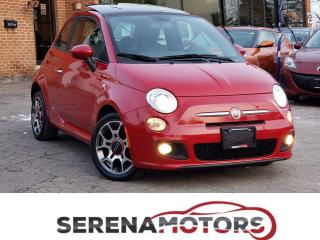 Used 2012 Fiat 500 SPORT | AUTO | PANOROOF | NO ACCIDENTS | LOW KM for sale in Mississauga, ON