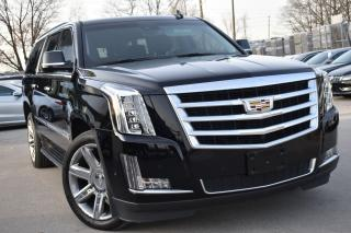 Used 2017 Cadillac Escalade ESV Luxury for sale in Oakville, ON