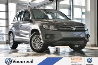 Used 2016 Volkswagen Tiguan Édition spéciale * TOIT PANO * NAV * for sale in Vaudreuil-Dorion, QC