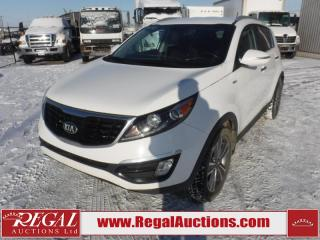 Used 2014 Kia Sportage SX 4D Utility AWD 2.0L for sale in Calgary, AB