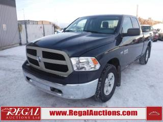 Used 2017 RAM 1500 SXT Quad Cab SWB 4WD 5.7L for sale in Calgary, AB