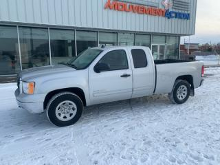 Used 2010 GMC Sierra 1500 4 roues motrices, cabine allongée, 143,5 for sale in Terrebonne, QC