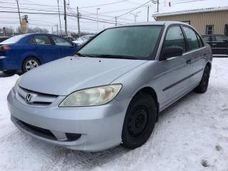 Used 2004 Honda Civic 4dr Sdn SE Manual for sale in Terrebonne, QC