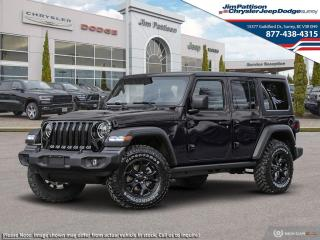 New 2020 Jeep Wrangler Unlimited Unlimited Willys Edition for sale in Surrey, BC