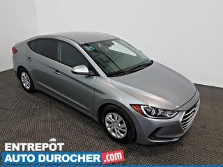 Used 2017 Hyundai Elantra LE - AIR CLIMATISÉ - Sièges Chauffants for sale in Laval, QC