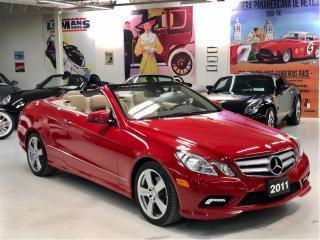 Used 2011 Mercedes-Benz E-Class 2dr Cabriolet E350 Premium 2 for sale in Paris, ON