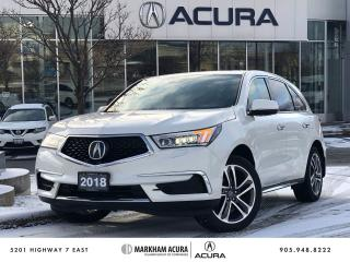 Used 2018 Acura MDX Tech for sale in Markham, ON