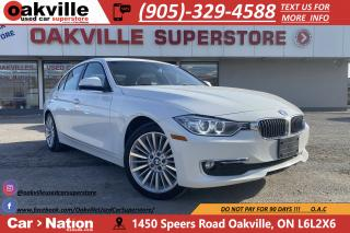 Used 2015 BMW 3 Series 328d xDrive LUX LINE | NAVI | HTD SEATS | SUNROOF for sale in Oakville, ON