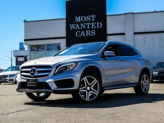 Used 2016 Mercedes-Benz GLA 250 GLA250 4MATIC|NAVI|PANO ROOF|BLIND SPOT|BLUETOOTH|LEATHER for sale in Kitchener, ON