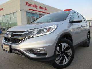 Used 2016 Honda CR-V AWD 5dr Touring | HONDA CERTIFIED | GREAT VALUE | for sale in Brampton, ON
