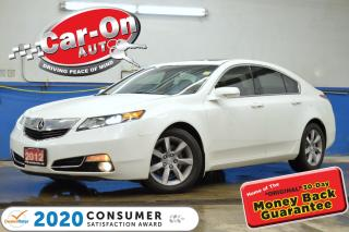Used 2012 Acura TL LEATHER SUNROOF HTD SEATS FULL PWR GRP BLUETOOTH for sale in Ottawa, ON