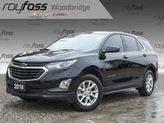 Used 2018 Chevrolet Equinox LT BACKUP CAM, HEATED SEATS for sale in Woodbridge, ON