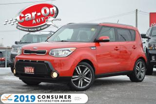 Used 2014 Kia Soul SX LEATHER NAV PANO ROOF REAR CAM HTD SEATS LOADED for sale in Ottawa, ON