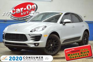 Used 2017 Porsche Macan Premium+ AWD TURBO LEATHER PANO ROOF 41,000 KM for sale in Ottawa, ON