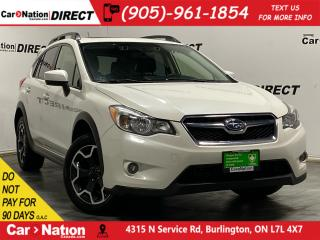 Used 2015 Subaru XV Crosstrek 2.0i w/Touring Pkg| AWD| SUNROOF| BACK UP CAMERA| for sale in Burlington, ON
