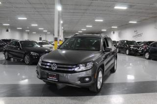 Used 2016 Volkswagen Tiguan 4MOTION I NO ACCIDENTS I LEATHER I REAR CAM I PANOROOF for sale in Mississauga, ON