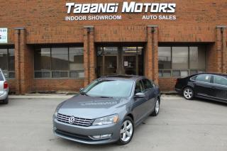 Used 2014 Volkswagen Passat NO ACCIDENTS I LEATHER I SUNROOF I HEATED SEATS I CRUISE for sale in Mississauga, ON