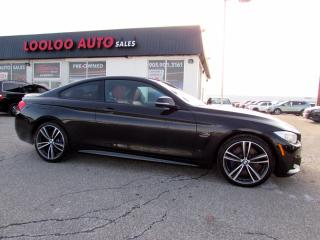 Used 2016 BMW 4 Series 435i xDrive Auto M Performance Pkg Navi Camera Certified for sale in Milton, ON